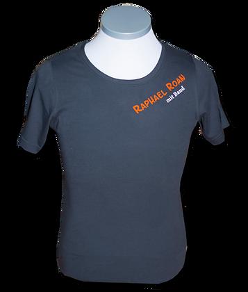Raphael Roan - T-Shirt Herren - grau