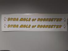 Custom Dyna Mole Decal