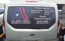 All-Star Apparel and Design Custom Decal