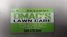 DMAC'S Lawn Care Custom Magnet