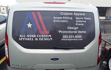 custom decals, window decals, vehicle de