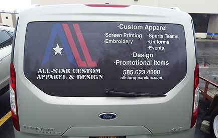 custom decals, window decals, vehicle de
