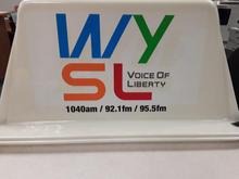 WYSL Car Top Sign