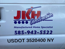 JKH Construction Decals