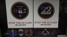 Custom Stop The 22 A Day Sign