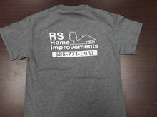 RS Home Improvements Custom Screen Printed Shirt