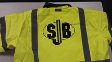 SJB  Custom High Vis Saftey Jacket