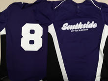 Southside Little League Baseball Uniform