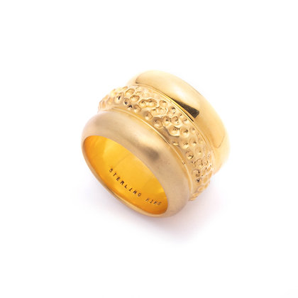 Trinity Band Ring | Gold