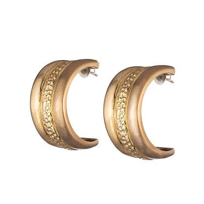 Trinity Hoops | Gold