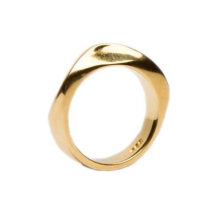 Magma Ridge Ring | Gold