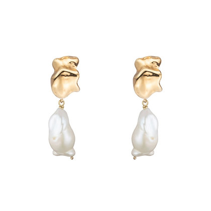 Baroque Pearl Minis | Gold