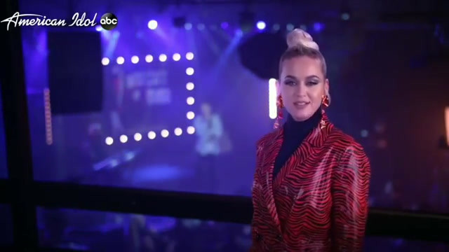 Katy Perry wears Sterling King Agnes Earrings on American Idol