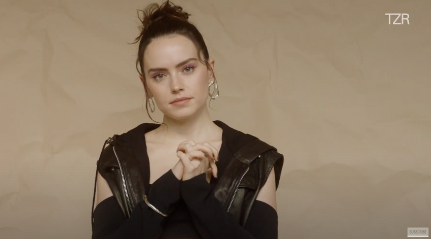 Daisy Ridley, The Zoe Report