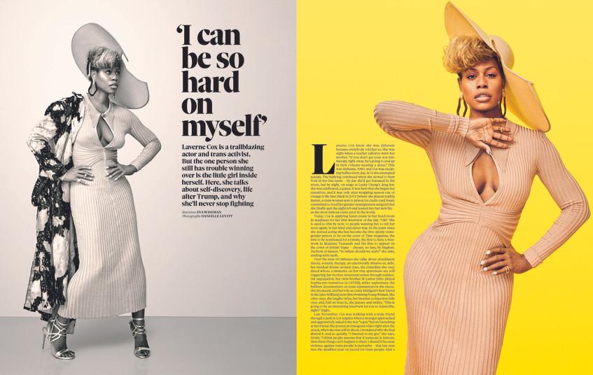 Laverne Cox, Observer Magazine