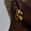 Thumbnail: Mismatched Fold Earrings | Gold