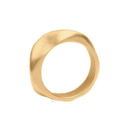 Satin Ridge Band Ring