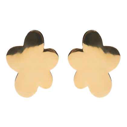 Flora Earrings | Gold