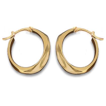 Ridge Hoop Minis | Gold