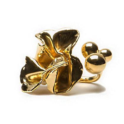 Delphinium Ring | Gold
