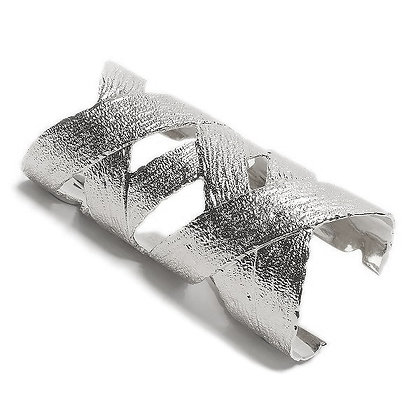 Wrapping Cuff   Silver