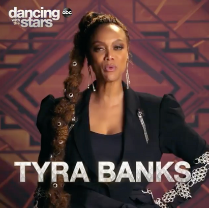 Tyra Banks   DWTS