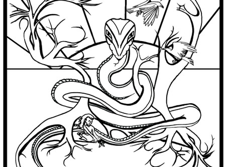 Song of the Serpent King | Colouring Competition