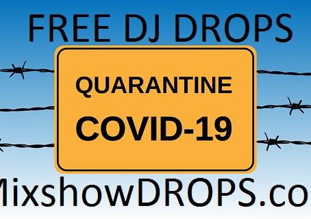 FREE DJ DROPS for your CORANAVIRUS mixes and livestreams