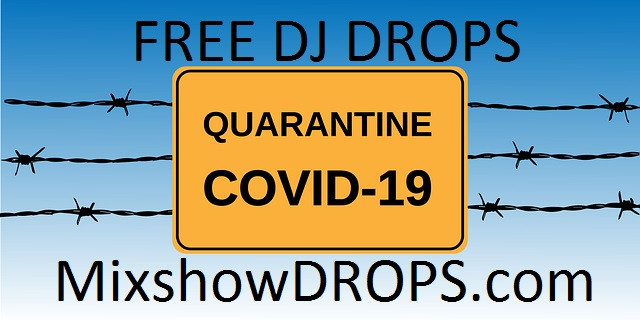 mixing live online is fun we made these FREE free dj drops for coronavirus mixes or livestreams