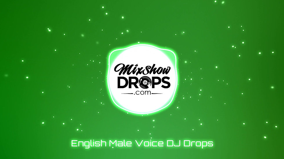6 Male Voice Custom DJ Drops for $60