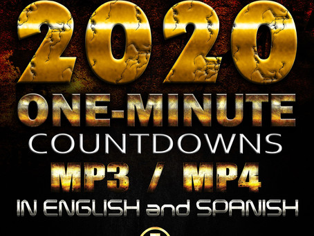 FREE New Year 2019-2020 Countdowns (mp3 and mp4)