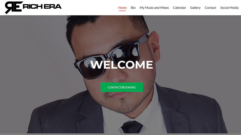 Fresh, new WEBSITE for your business designed in 3-5 days