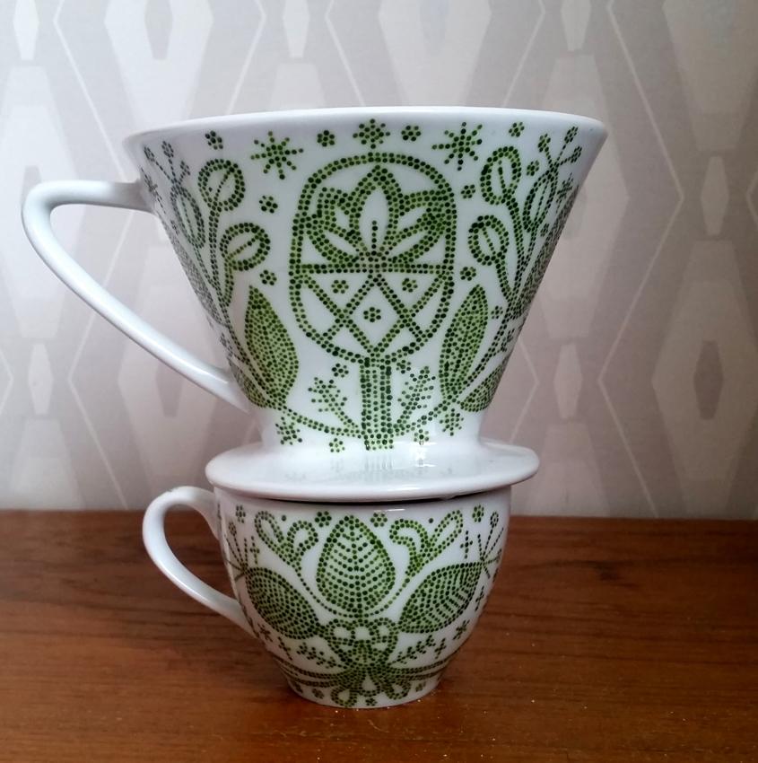 Heackel collection Coffe holder & cu