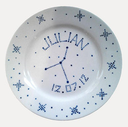 Star sign collection - plate