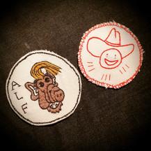 Alf and Sad cowboy
