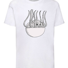 Ramen monster t-shirt (white)