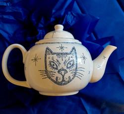 Cat collection - tea pot