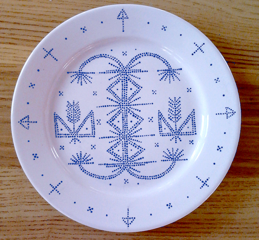 Grandmother collection - plate