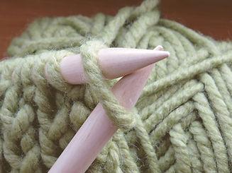 agujas de tejer