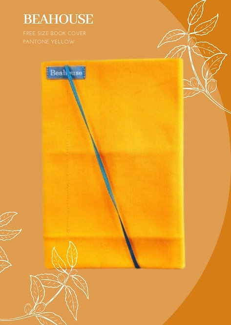 Beahouse Free Size Book Cover  (Pantone Yellow)