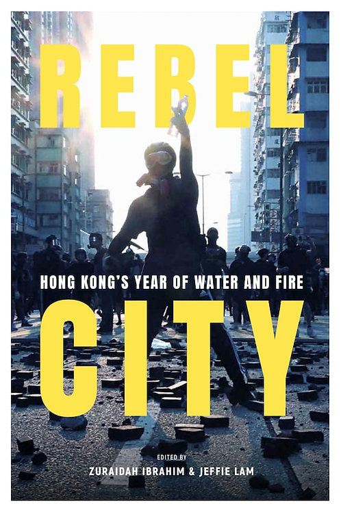 Rebel City, Hong Kong's Year of Water and Fire, Jeffie Lam, SCMP,