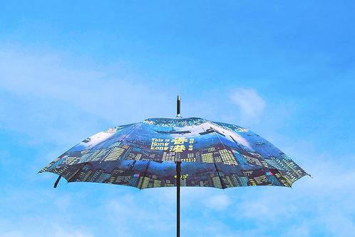 《THIS IS HONG KONG 從前,有個香港》限量插畫雨傘