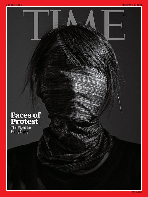 Faces of Protest - The Fight for Hong Kong (Feb 3 2020, TIME )