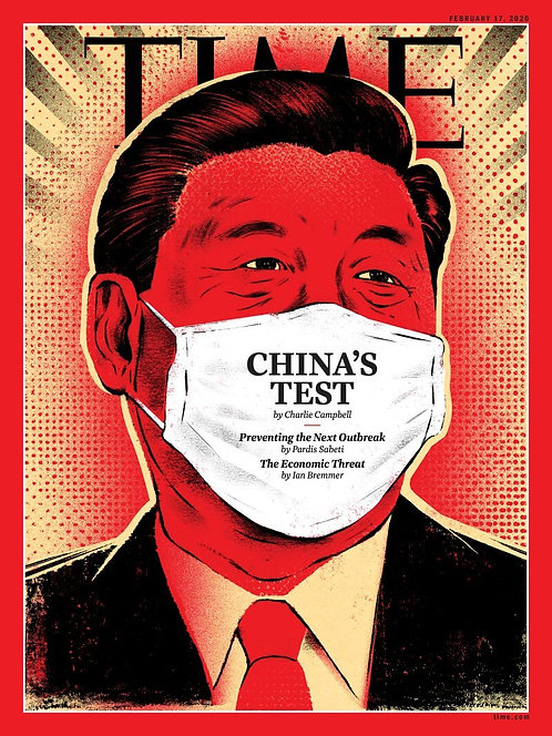 武漢肺炎, 中國夢, 習近平, 時代雜誌, TIME, 中國疫症, The Coronavirus Outbreak Could Derail Xi Jinping's Dreams of a Chinese Century