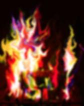 Heidense Wijsheid - home-log-flame-fire-