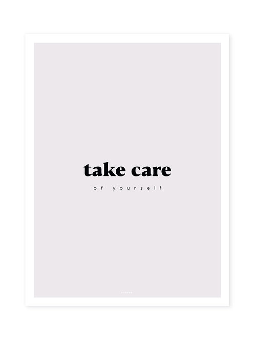 Take Care Black -Viewme Type Collection
