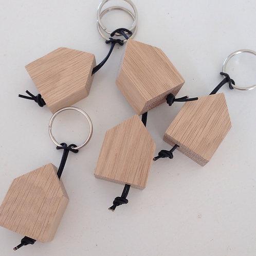 Vnf Handmade Eiche Schlüsselhäuser Schlüsselanhänger