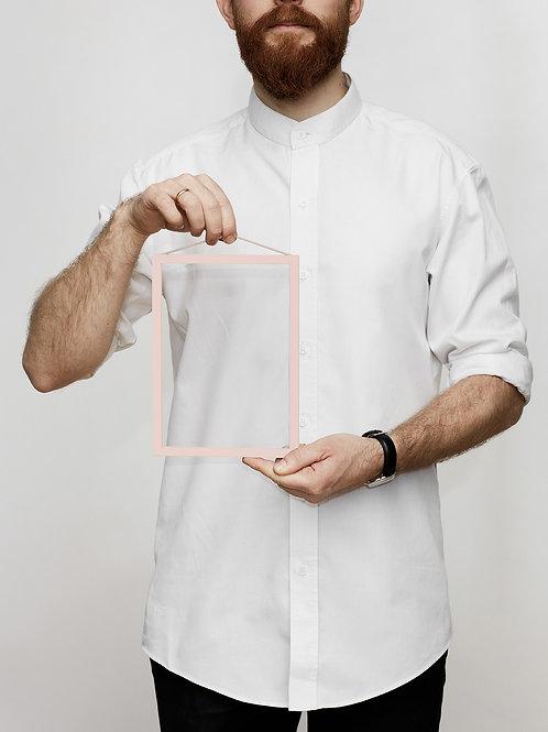 Moebe Frame Bilderrahmen Rahmen Color Pale Rose Rosa