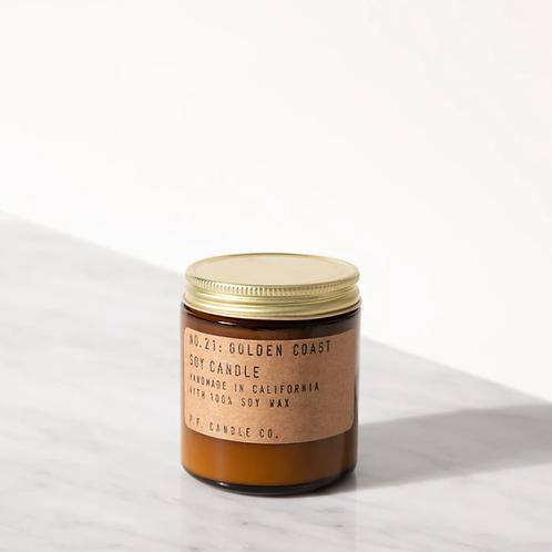 P.F. Candle Co. No. 21 Golden Coast Small Duftkerze