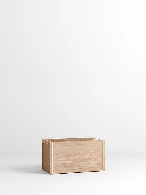 MOEBE Storage Box Eiche White